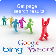 get page 1 listings on Google